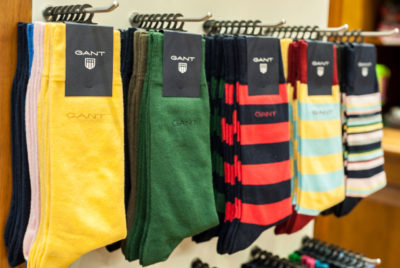 Gant Socks in colourful designs and patterns