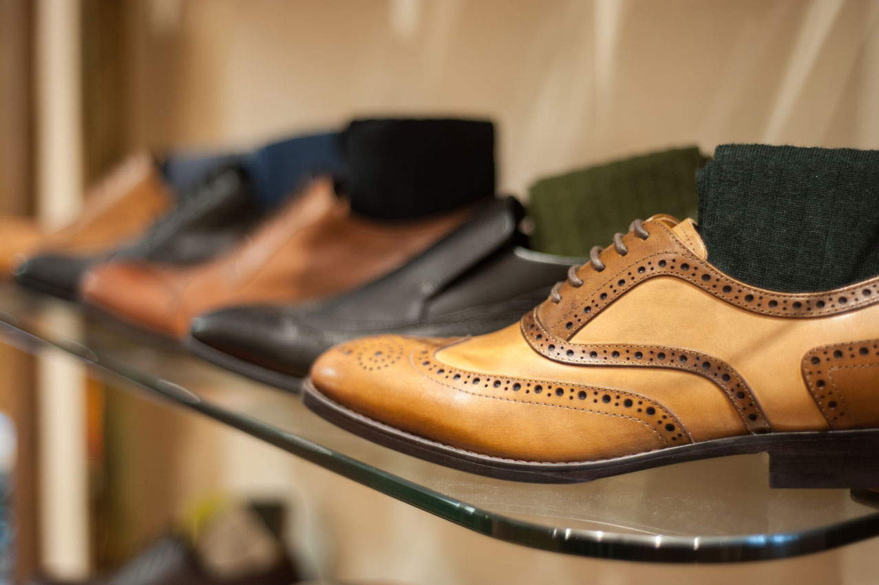 Azor brogue shoes