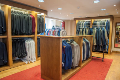 Suits from Brook Taverner and Magee